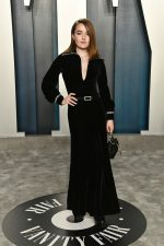 Kaitlyn Dever  In Pierre Balmain @  2020 Vanity Fair Oscar Party