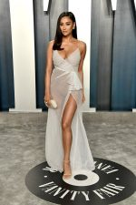 Shay Mitchell  In Honayda  @ 2020 Vanity Fair Oscar Party