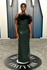 Lashana Lynch  In Michael Kors  @  2020 Vanity Fair Oscar Party
