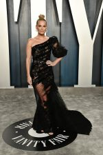 Molly Sims  In Georges Chakra Couture  @ 2020 Vanity Fair Oscar Party