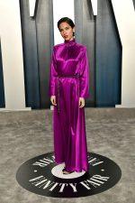 Kelsey Asbille In Louis Vuitton @ 2020 Vanity Fair Oscar Party