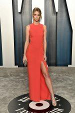 Kate Bock  In Elie Saab  @  2020 Vanity Fair Oscar Party