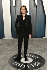 Sigourney Weaver  In Saint Laurent @  2020 Vanity Fair Oscar Party