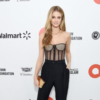 kate-bock-in-tom-ford-2020-elton-john-aids-foundation-academy-awards-viewing-party