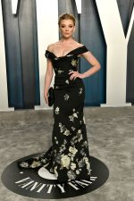Natalie Dormer  In Vivienne Westwood Couture @  2020 Vanity Fair Oscar Party