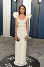 Aubrey Plaza In Hellessy @ 2020 Vanity Fair Oscar Party