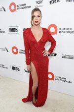 Josephine Skriver In Redemption  @ 2020 Elton John AIDS Foundation Academy Awards Viewing Party