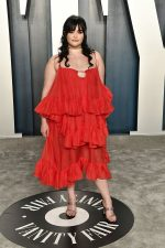 Barbie Ferreira  In Christopher Kane  @ 2020 Vanity Fair Oscar Party