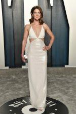 Cobie Smulders  In David Koma @  2020 Vanity Fair Oscar Party