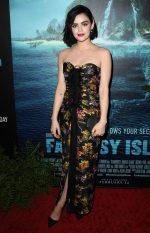 "Lucy Hale  In Jason Wu Spring  @ ""Fantasy Island"" LA Premiere"