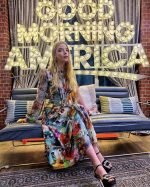 Anya Taylor-Joy  In Prabal Gurung Promoting 'Emma' On Good Morning America
