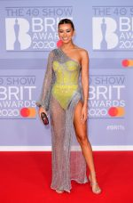 Montana Brown In  Rami Kadi Couture  @ 2020 BRIT Awards