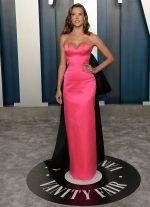 Alessandra Ambrosio  In Armani Prive @ 2020 Vanity Fair Oscar Party