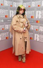 Billie Eilish In Burberry  @ 2020 The BRIT Awards
