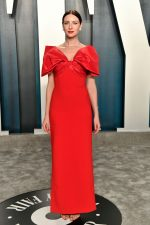 Caitriona Balfe  In Prabal Gurung @ 2020 Vanity Fair Oscar Party