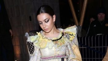 charli-xcx-in-patchwork-ruffled-dress-love-magazine-party-in-london