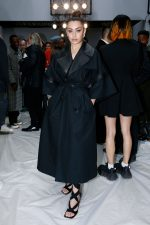 Charli XCX Front Row @  JW Anderson   AW 20 London Fashion Week Show