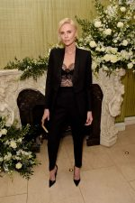 Charlize Theron In  Christian Dior @ 2020  Vogue UK and Tiffany & Co. Fashion and Film Party