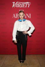 Chloe Grace Moretz In Christopher Kane @  Variety x Armani Makeup Artistry Dinner in LA