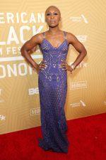 Cynthia Erivo In  Atelier Versace @  American Black Film Festival Honors Ceremony