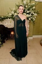 Daisy Ridley In Oscar De La Renta @ Vogue UK and Tiffany & Co. Fashion and Film Party