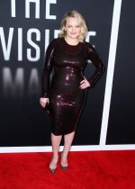 """Elisabeth Moss  In Tom Ford @  """"The Invisible Man""""  LA Premiere"""
