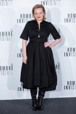 "Elisabeth Moss  In CO Dress @  ""The Invisible Man"" Premiere in Madrid"
