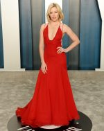 Elizabeth Banks  In Badgley Mischka @ 2020 Vanity Fair Oscar Party