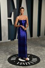 Ella Balinska  In Schiaparelli  Couture @ 2020 Vanity Fair Oscar Party