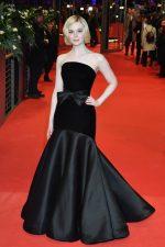 Elle Fanning  In  Armani Prive @ 'The Roads Not Taken' Berlinale Film Festival Premiere
