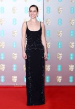 Emilia Clarke In Schiaparelli  Haute Couture @  2020 EE British Academy Film Awards