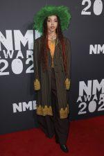 FKA Twigs  In   Vintage Jean Paul Gaultier  @  2020 NME Awards