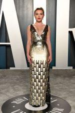 Florence Pugh In Louis Vuitton @ 2020 Vanity Fair Oscar Party