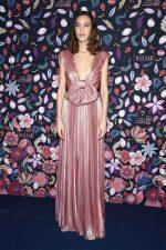 Alexa Chung  In  Christian Dior Haute Couture @ The Harper's Bazaar Exhibition