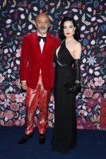 Christian Louboutin  & Dita Von Teese  @ The Harper's Bazaar Exhibition 2020