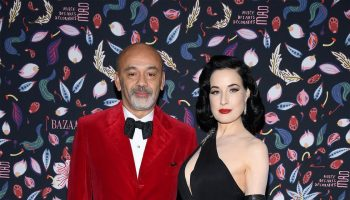 christian-louboutin-dita-von-teese-the-harpers-bazaar-exhibition-2020