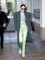 Gigi Hadid  In Versace @ Out in Milan  Fashion Week  2020