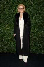Gillian  Anderson Attends   @ 2020 Charles Finch And Chanel Pre-Bafta Party In London