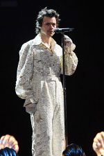 Harry Styles Perforrms In Gucci @  BRIT Awards 2020