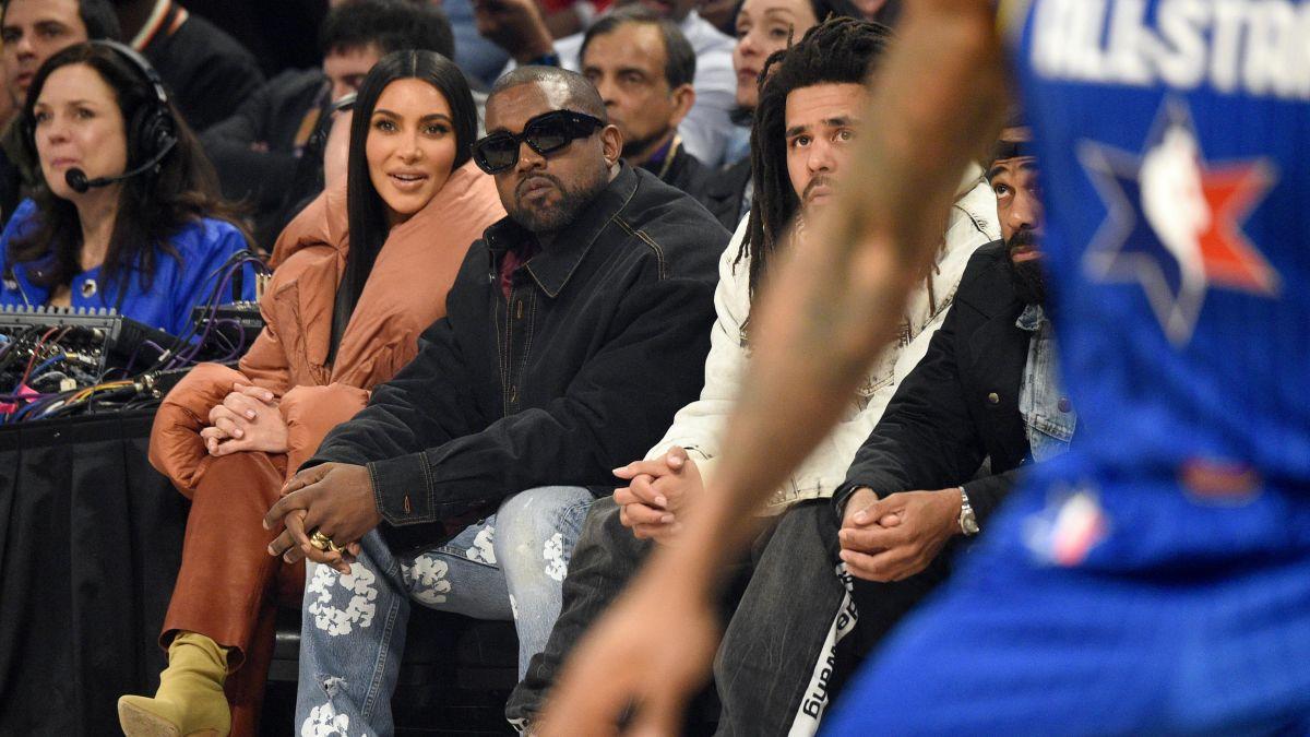 kim-kardashian-kanye-west-attends-the-2020-nba-all-star-game