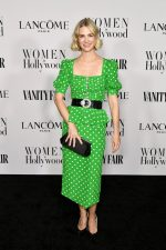 January Jones  In  Alessandra Rich @   Vanity Fair and Lancome Women in Hollywood Celebration