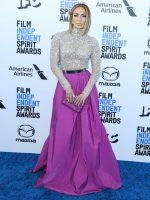 Jennifer Lopez In Valentino @ 2020 Film Independent Spirit Awards