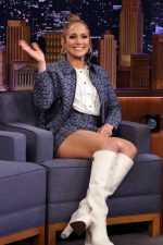Jennifer Lopez  In Coach  @ The Tonight Show With Jimmy Fallon