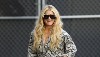 jessica-simpson-in-animal-print-jumpsuit-arriving-to-jimmy-kimmel