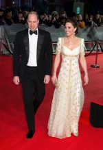 Catherine, Duchess of Cambridge,  In Alexander McQueen @ 2020 EE British Academy Film Awards