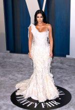 Kim Kardashian West  In Alexander McQueen @ 2020 Vanity Fair Oscar Party
