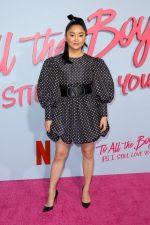"""Lana Condor In Valentino @ """"To All The Boys: P.S. I Still Love You"""" LA  Premiere"""