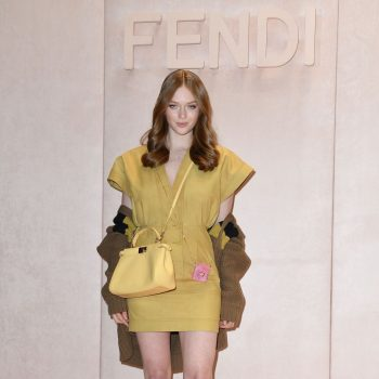 larsen-thompson-frontrow-fendi-spring-summer-2019-show-in-milan