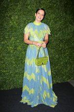 Lily Allen In Bora Aksu  @   2020 Charles Finch and Chanel Pre-BAFTA Party