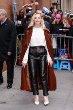 Margot Robbie In Acne Studios &   Magda Butrym Out in New York